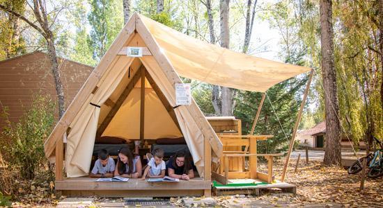 Camping Sites Et Paysages Les Saules Cheverny Sous La Tente