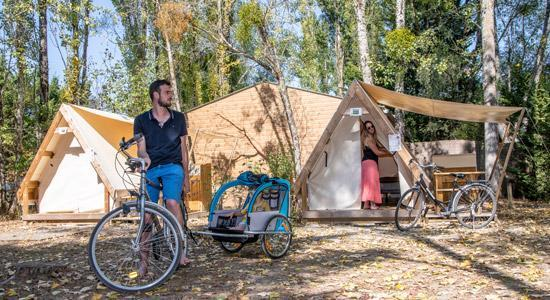 Camping Sites Et Paysages Les Saules Chevernyl Tente Parent