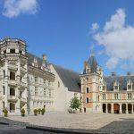 The royal castle of Blois