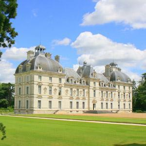 Chateau De Cheverny - Camping les Saules Sites and Landscapes Cheverny Loire Valley