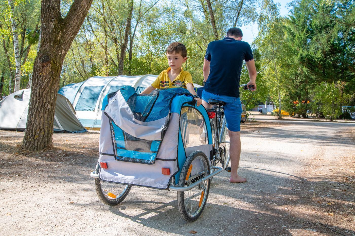 Camping Sites Et Paysages Les Saules Cheverny Velo Enfant
