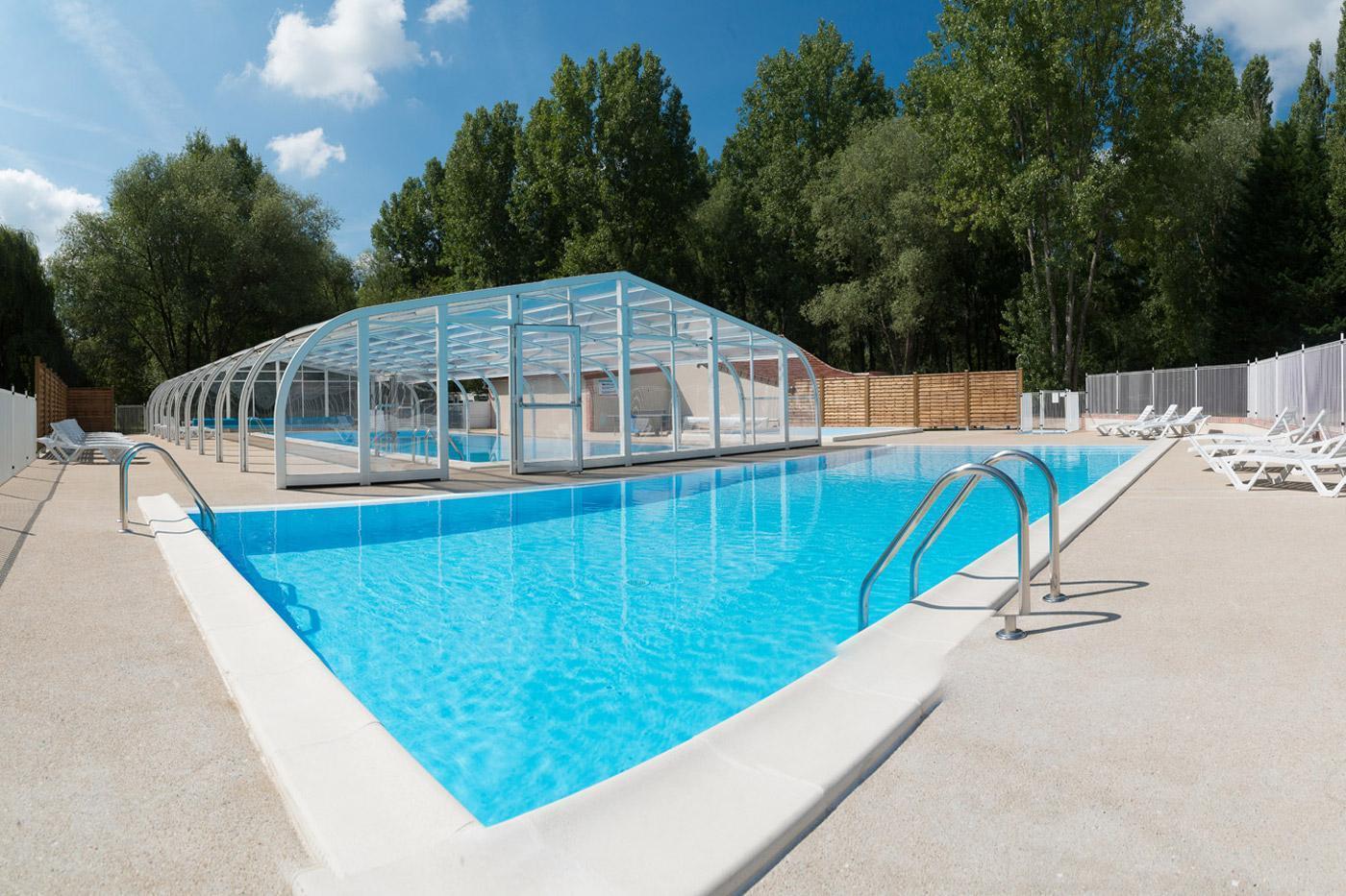 Camping Sites Et Paysages Les Saules à Cheverny Loire Valley Notre Espace Aquatique Galerie