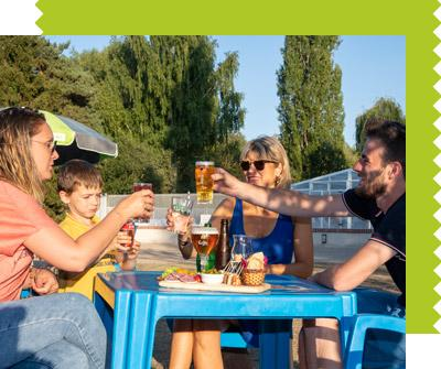 Bar Terrasse Camping Les Saules Cheverny