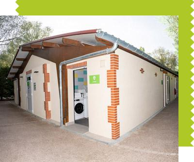Eco Sanitaire Camping Les Saules Cheverny