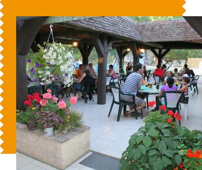 Restaurant Traditionnel Camping Les Saules Cheverny